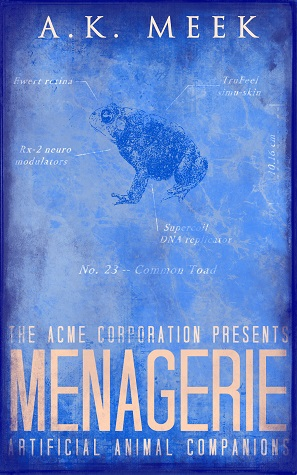 Menagerie Book Cover